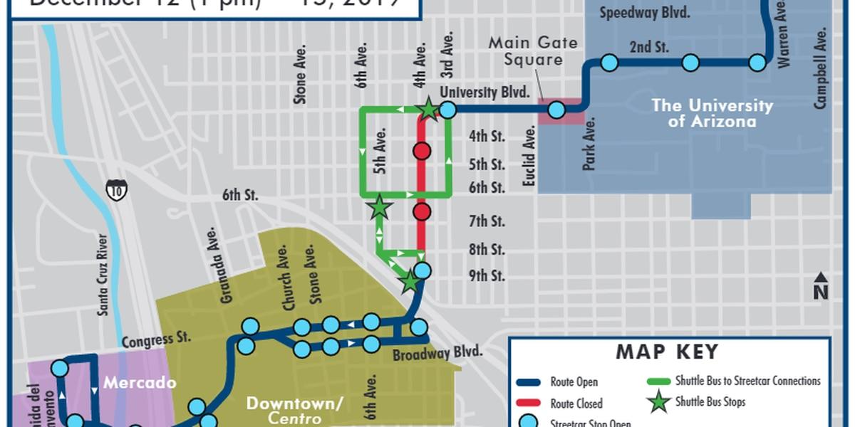 Road closures for Fourth Avenue Winter Street Fair
