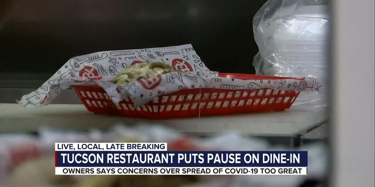 Local restaurant returns to takeout only, experts say others may follow suit