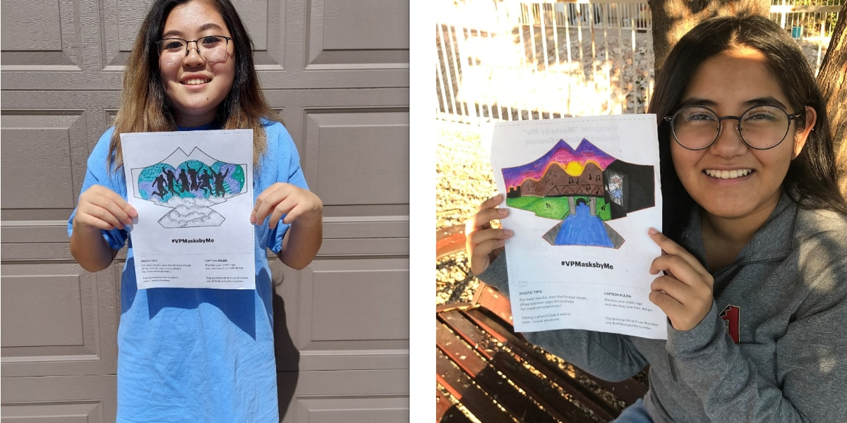 Two Sahuarita students win national 'Masks By Me' contest