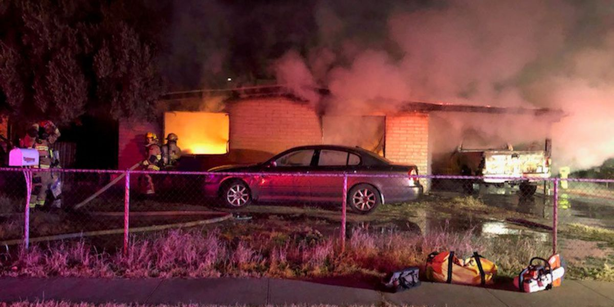 Fire damages house, vehicles on 23rd Street