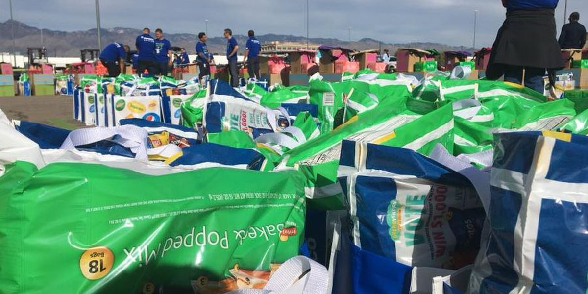 Local families receive food, goods from United Way of Tucson, Feed the Children partnership