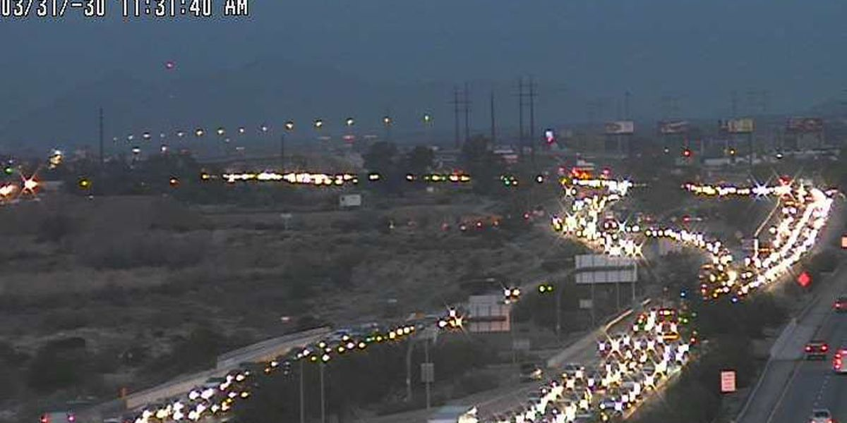 Construction on EB I-10 causes delays for commuters from Tucson's NW side