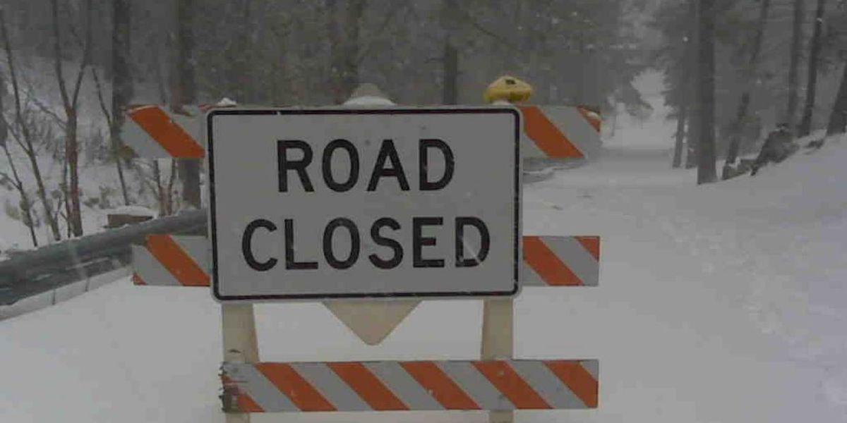Catalina Highway closed