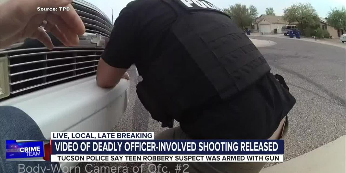Video of TPD body cam released