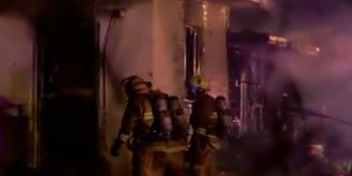 One person hospitalized after fire in Marana