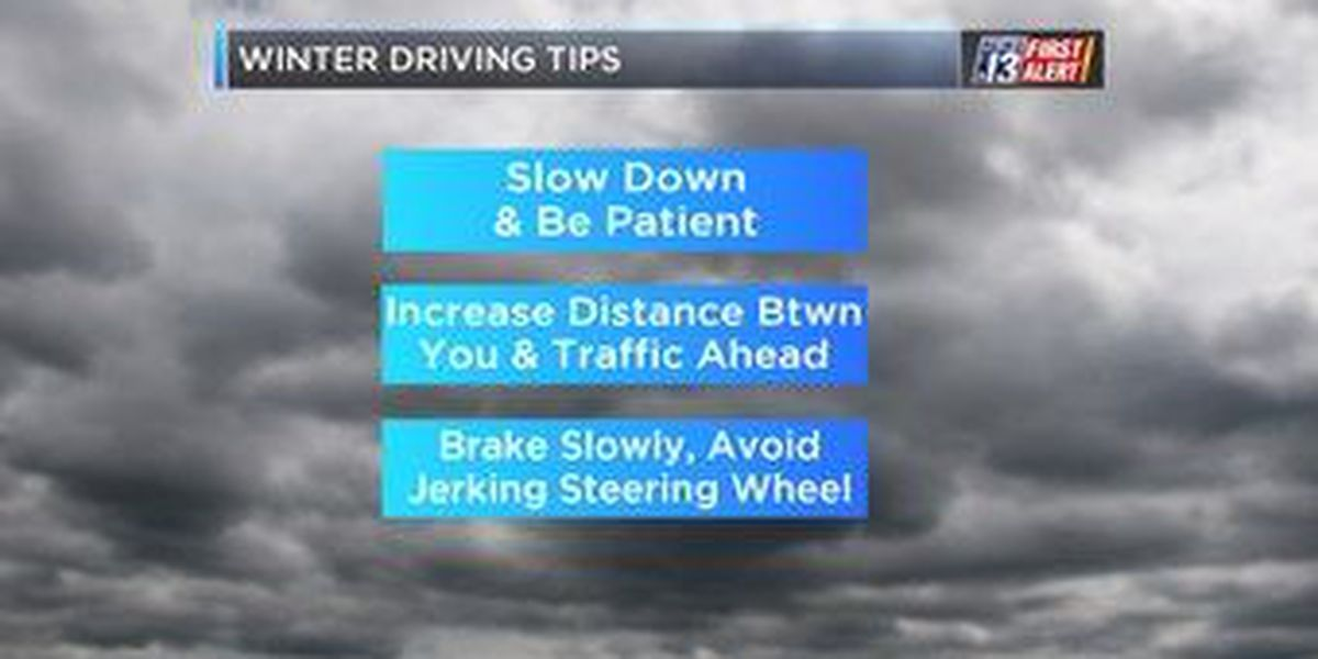 TIPS: Simple ways to stay safe while on the road during winter storms