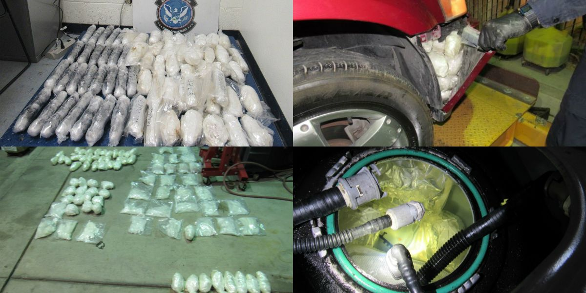 CBP Officers seize $275K of heroin, meth at Port of San Luis