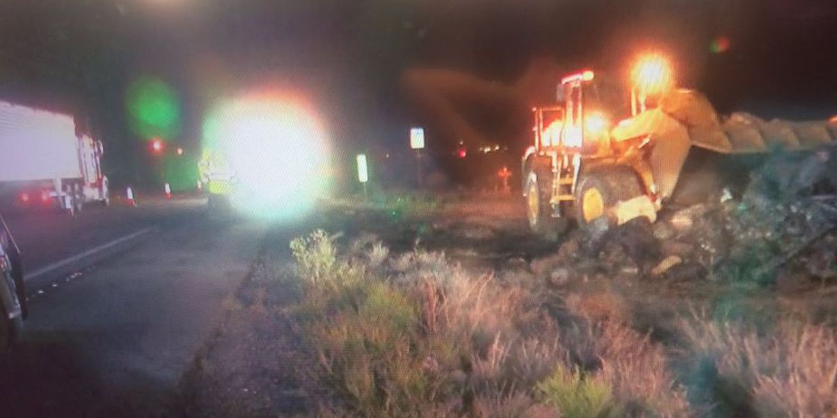 Highway officials reopen WB I-10 near Houghton Road after fire