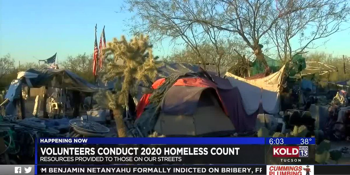 Volunteers conduct 2020 homeless count
