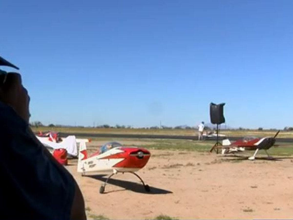 RC plane competition draws pilots from around the world
