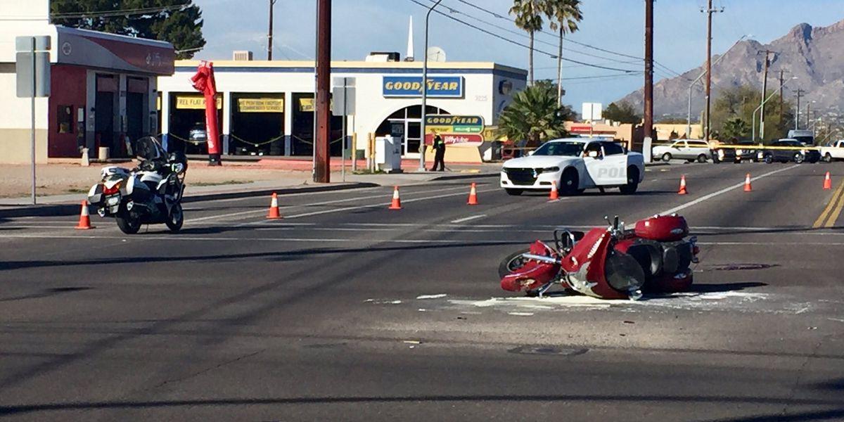 UPDATE: Motorcycle crash turns fatal