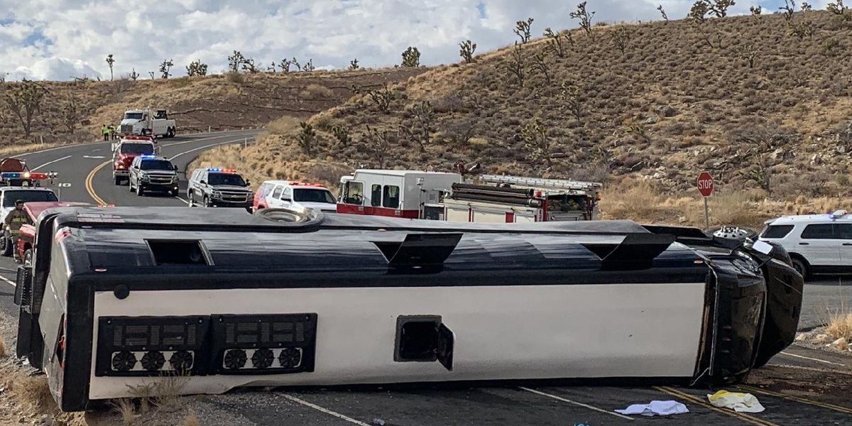 Fatal Mohave County tour bus crash under investigation