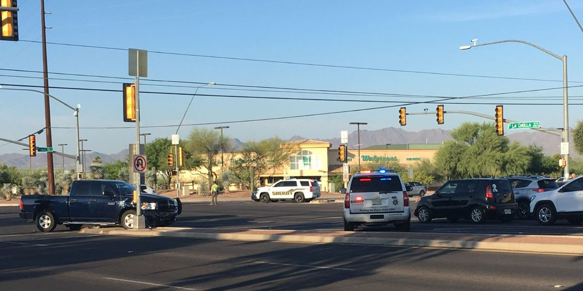UPDATE: One person dies in crash at Ina, La Cholla