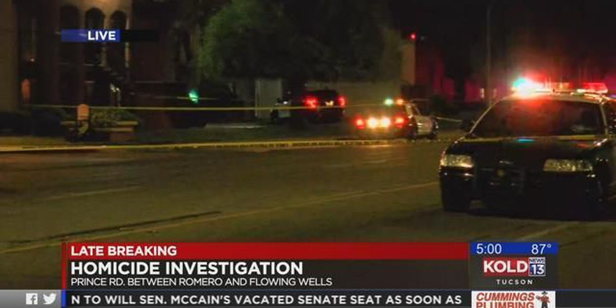 Tucson police investigating two overnight homicides; Prince Road closed near Flowing Wells