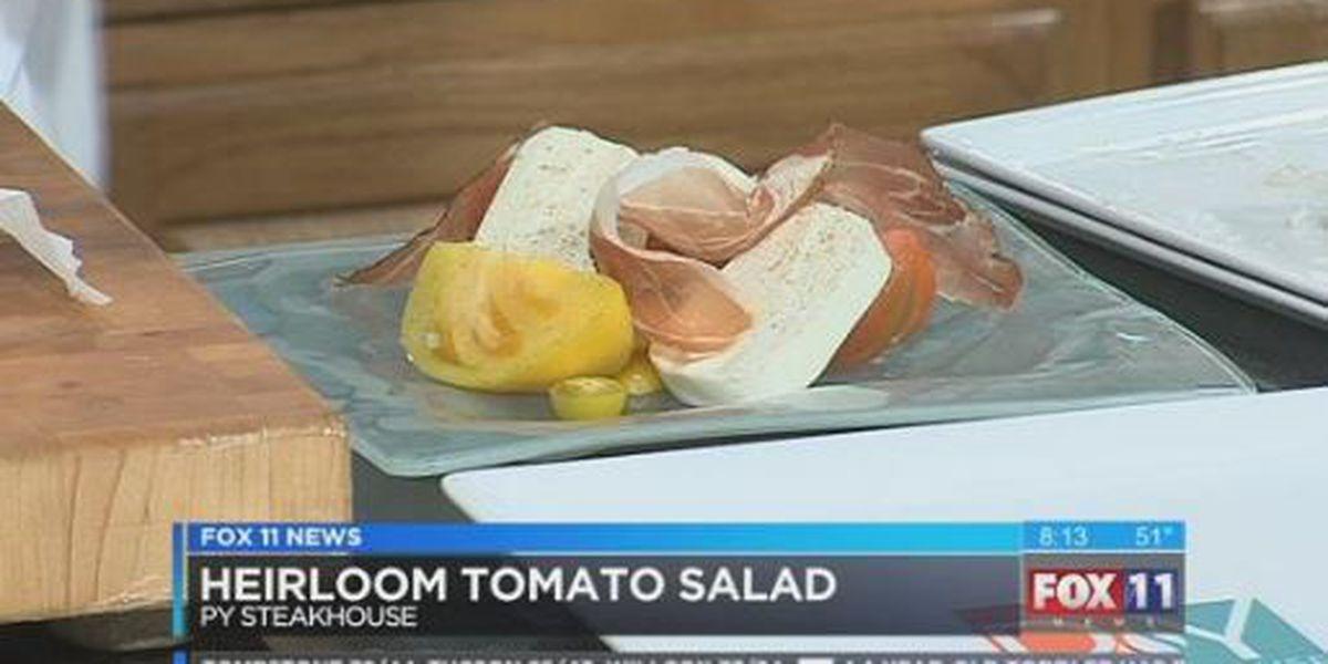 Heirloom Tomato Salad - PY Steakhouse