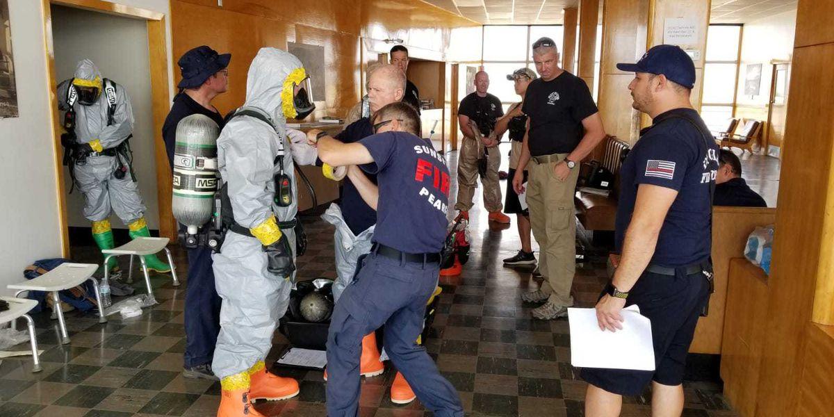 Cochise County conducts HAZMAT training in Douglas