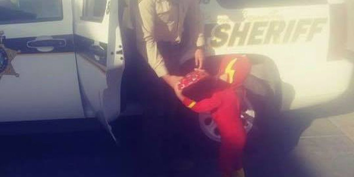 Pima County deputy caught red handed -- being a good guy