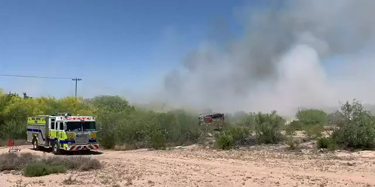 TFD and Rural Metro Fire respond to homeless camp brush fire