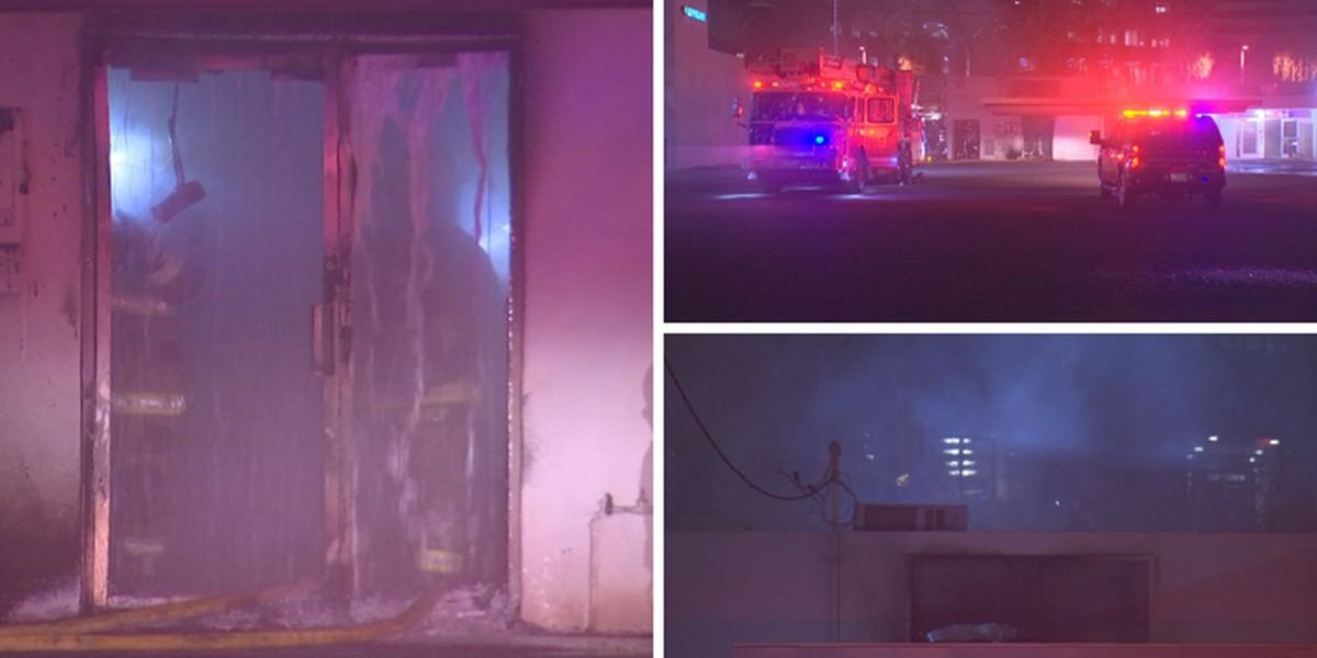 Fire that damaged Arizona Democratic Party headquarters being investigated as arson