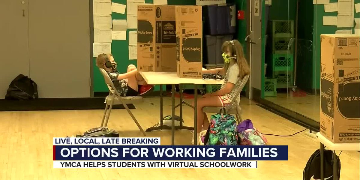 YMCA helps students with virtual homework