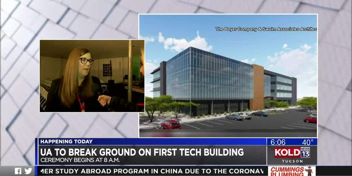 UA to break ground on first tech park building