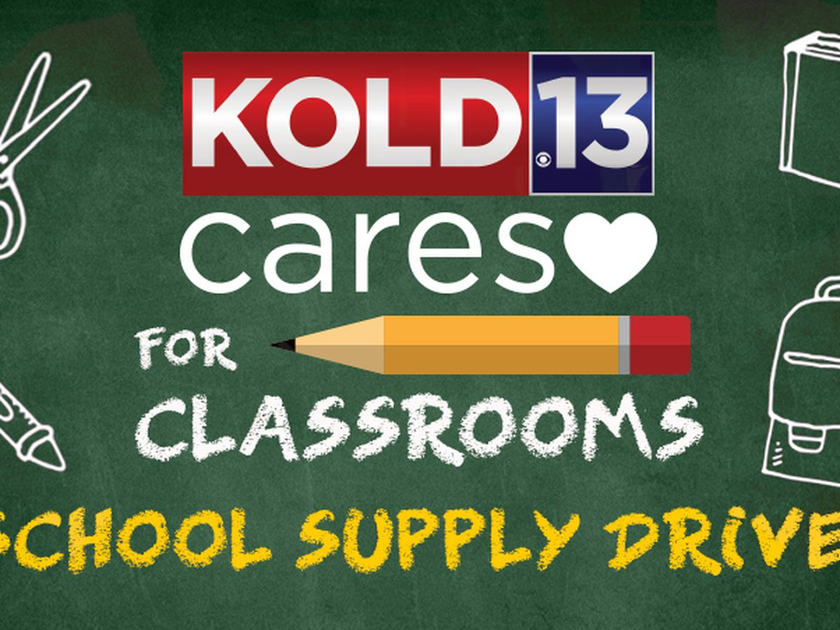 KOLD CARES: Classroom supply drive