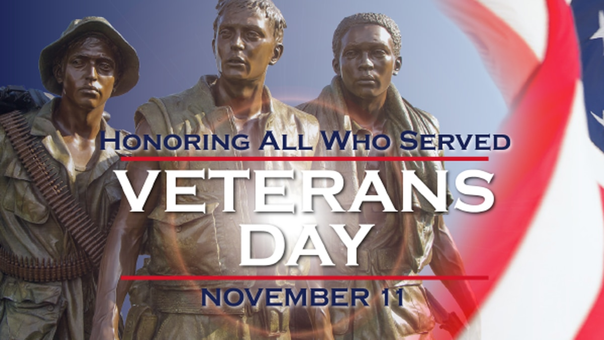 Deals, discounts and freebies for Veterans Day