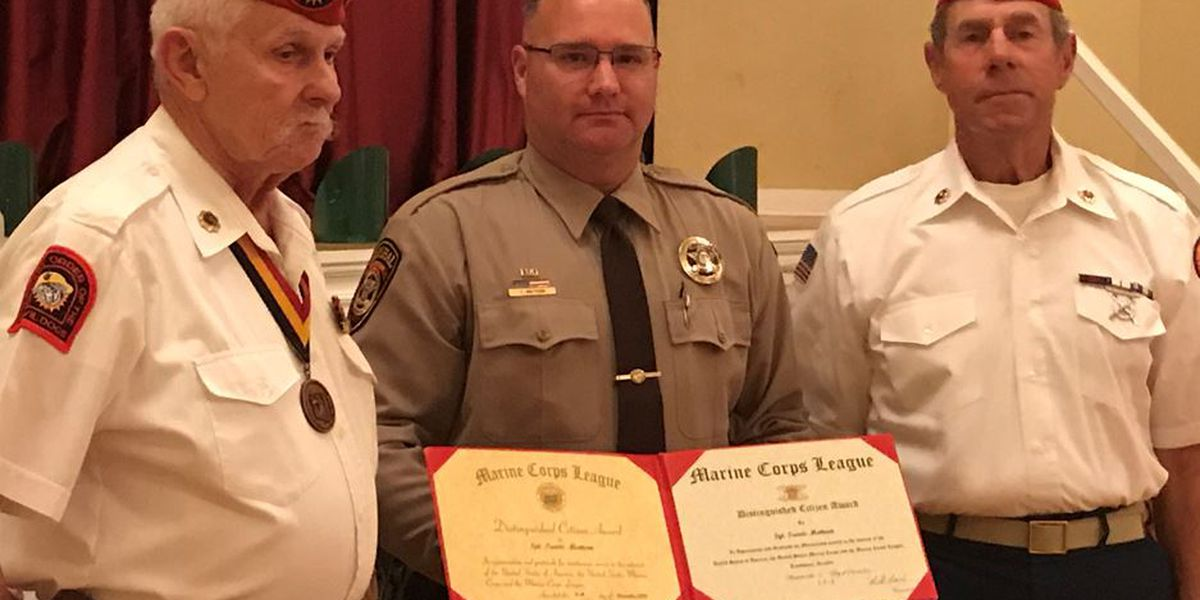 Tombstone Marshal recognized for saving man attempting to take his own life