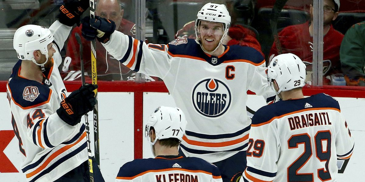 McDavid scores in OT to lead Oilers past Coyotes 3-2