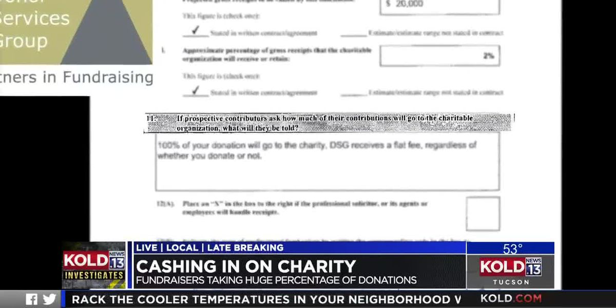 Cashing in on Charity