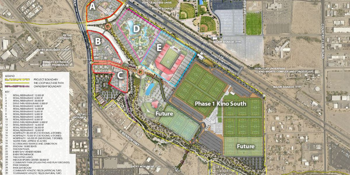 Pima County soliciting developer ideas for Kino South expansion