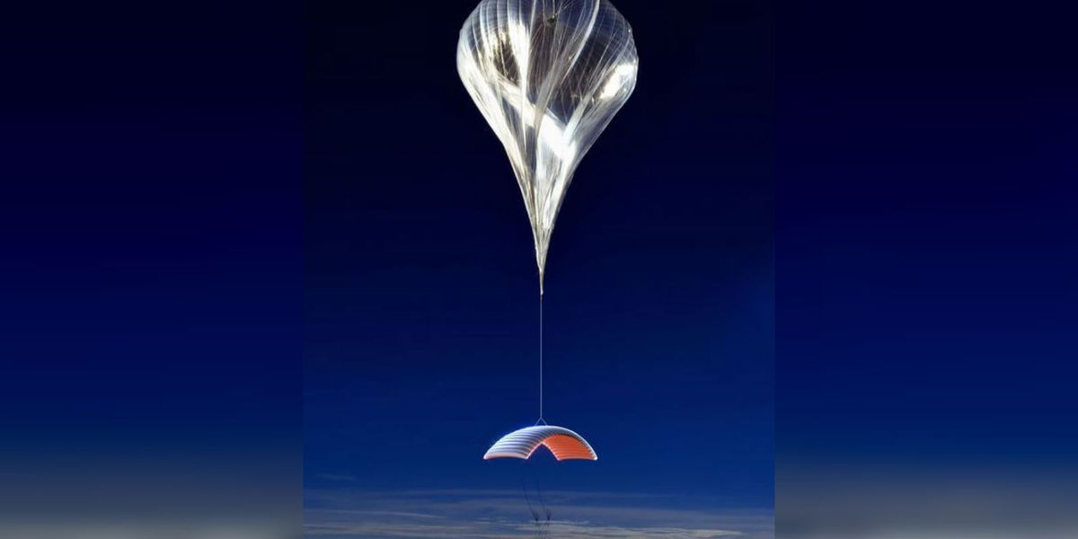 WATCH: Space balloon startup streams launch