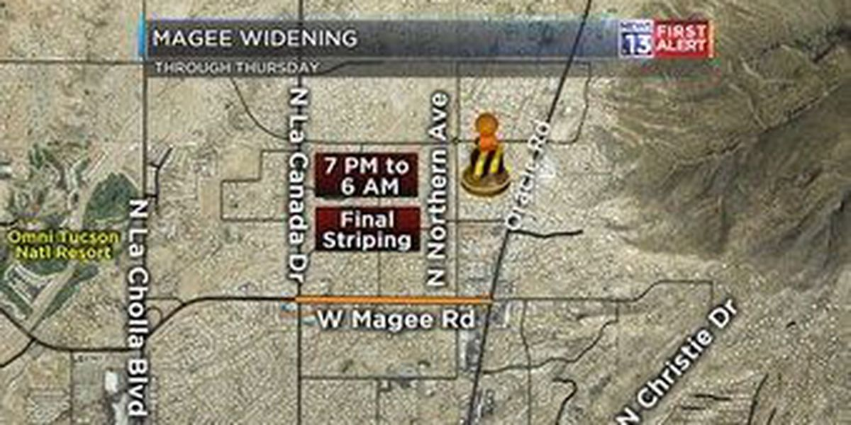 Final phase of widening work kicks off on Magee Road
