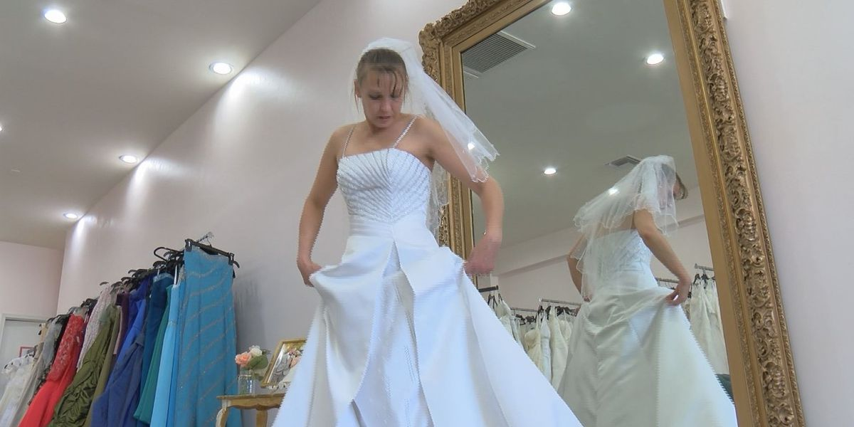Victims no more: Finding hope, purpose through wedding dresses
