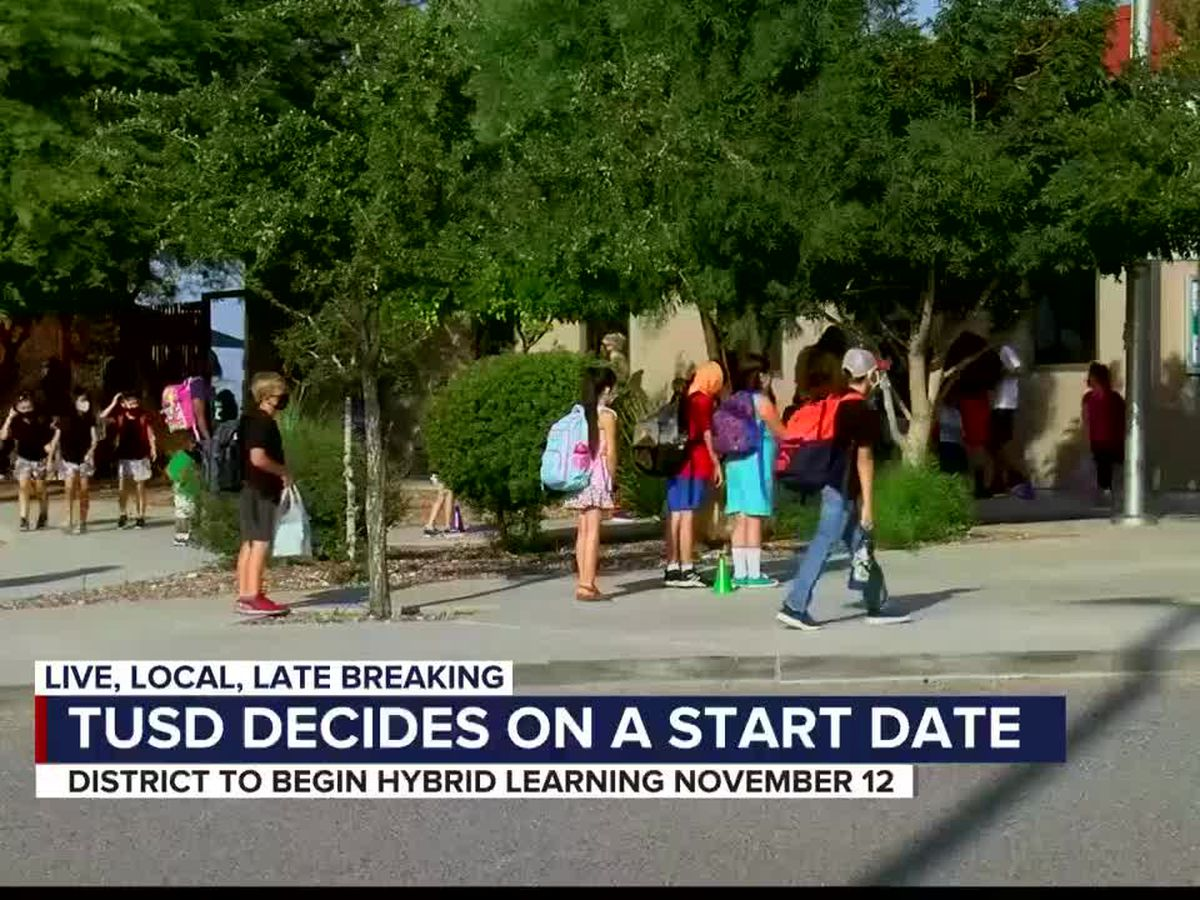 TUSD to transition into hybrid learning on Nov. 12
