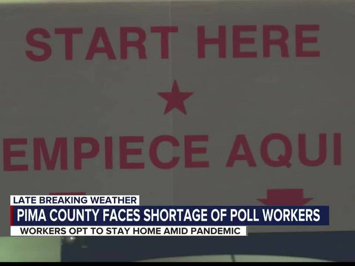 Pima County facing poll worker shortage for Aug. 4 primary