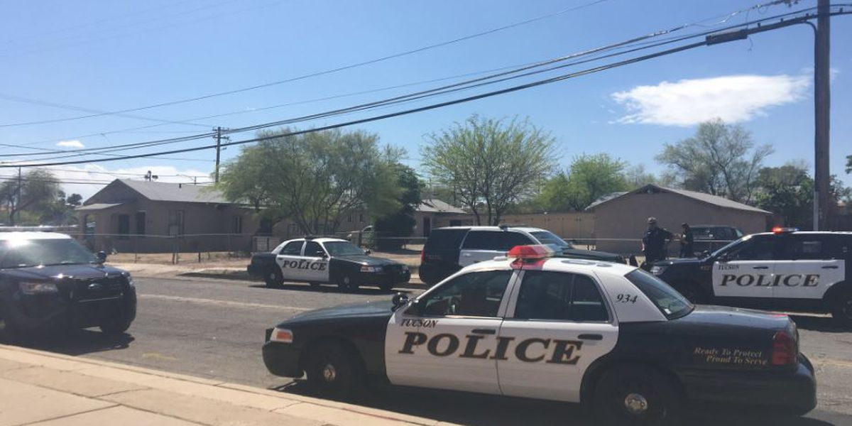 Barricaded suspect surrenders peacefully