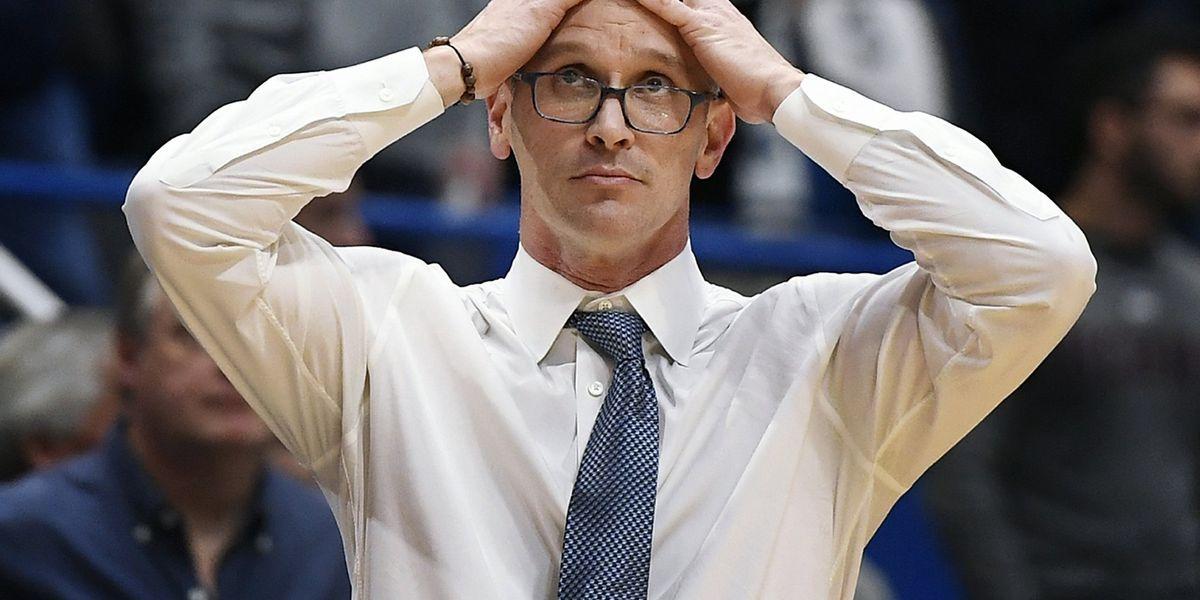 BEAR DOWN: Wildcats beat UConn 76-72