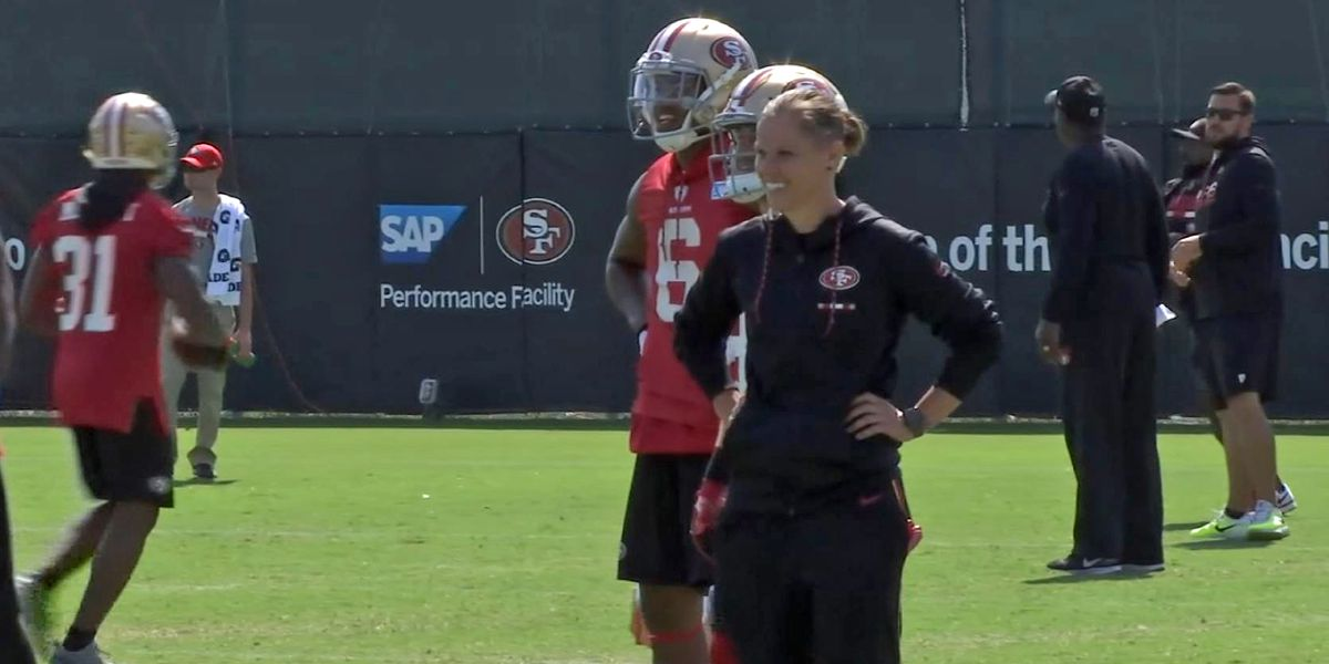 49ers' Katie Sowers to be first female coach in Super Bowl