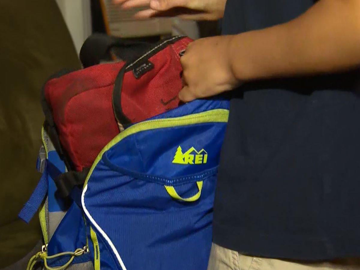 Study: Heavy backpacks could hurt your child