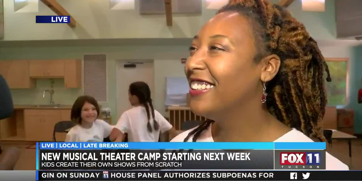 Students can create their own show at Musical Theatre Camp