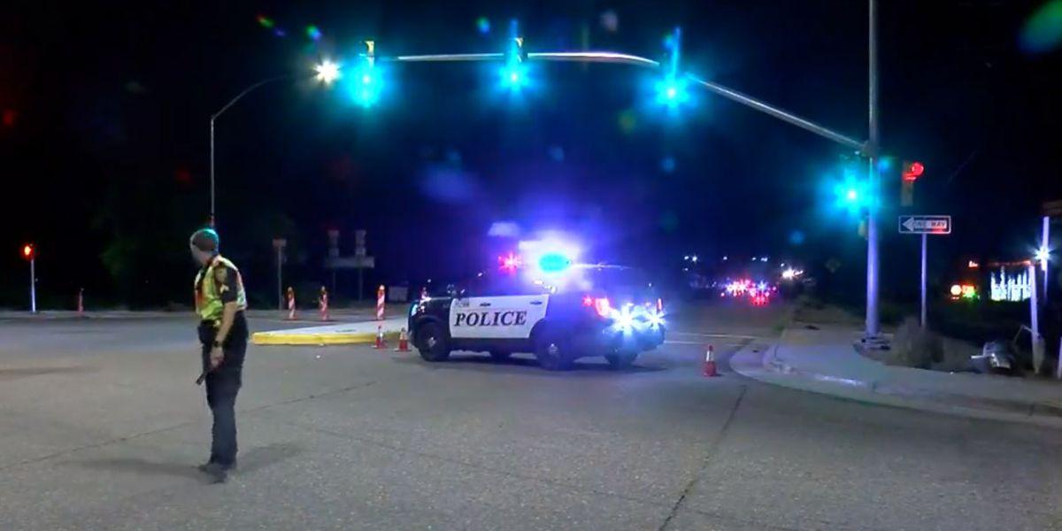 Driver arrested after crash that injured quad rider