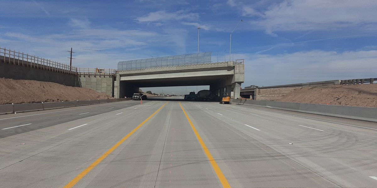 New eastbound lanes on I-10 at Ruthrauff open Friday