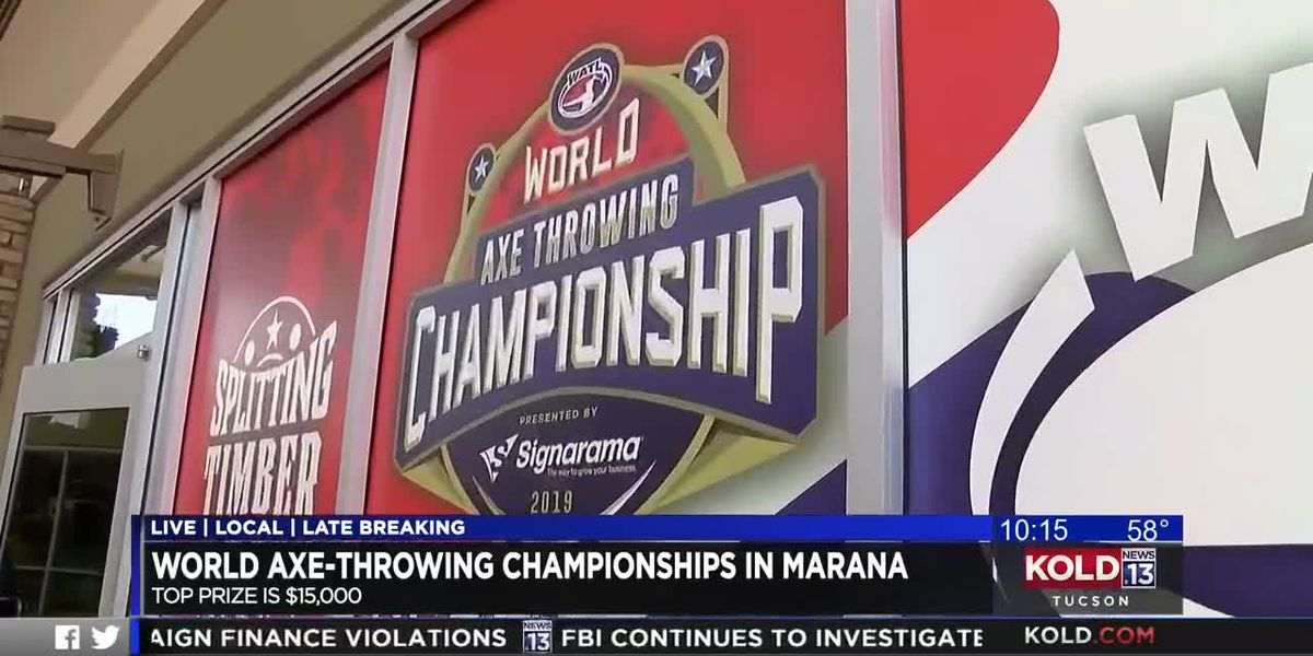 World Axe Throwing Championships wrap up in Marana