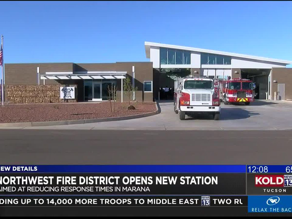 Northwest Fire District opens new station
