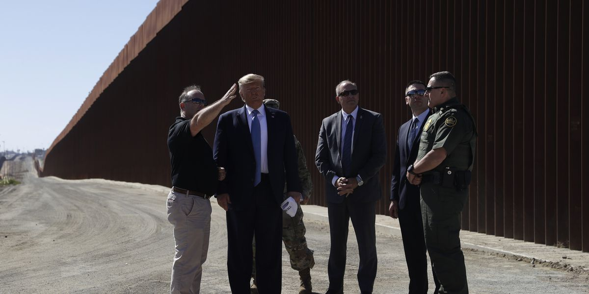 Appeals Court: Trump Can Use Military Funds for Border Wall