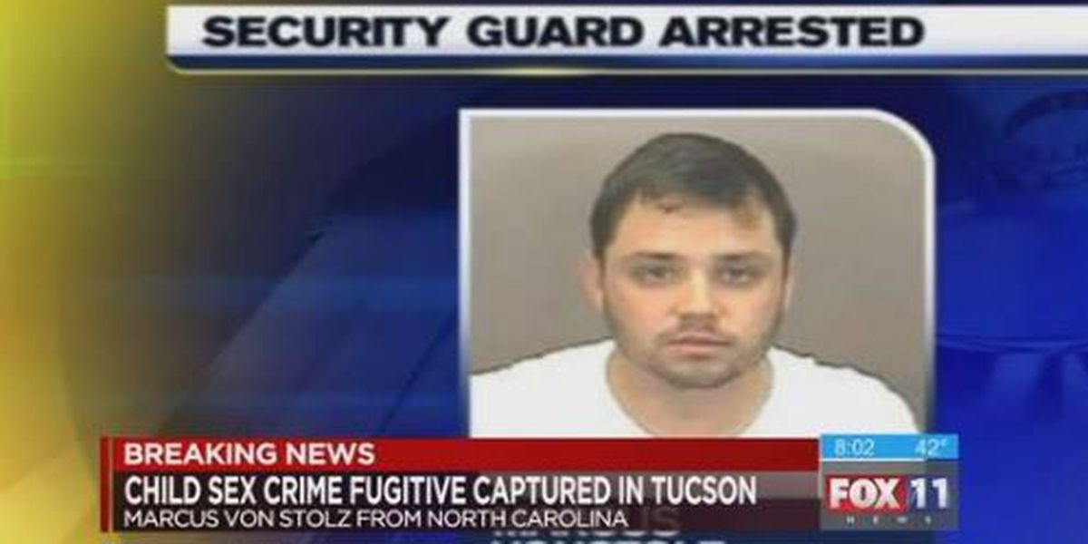 Man facing child sex charges in NC captured in Tucson