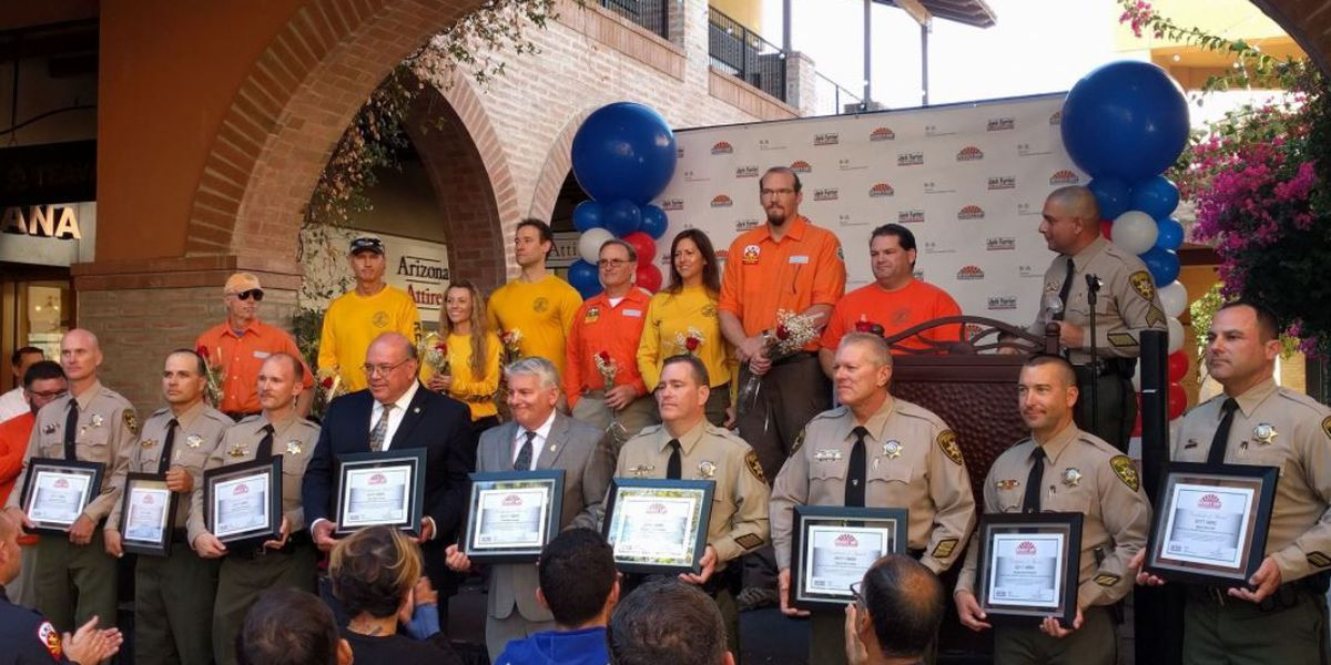 PCSD Search and Rescue honored at 2017 Heroes Day