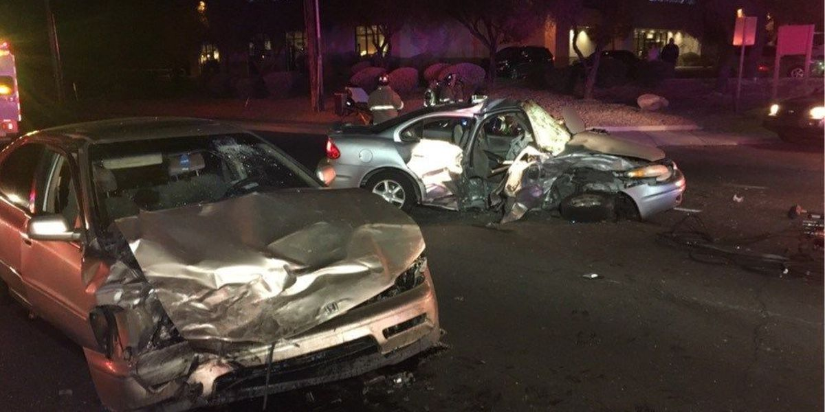 UPDATE: Four people sent to hospital after crash on Ina