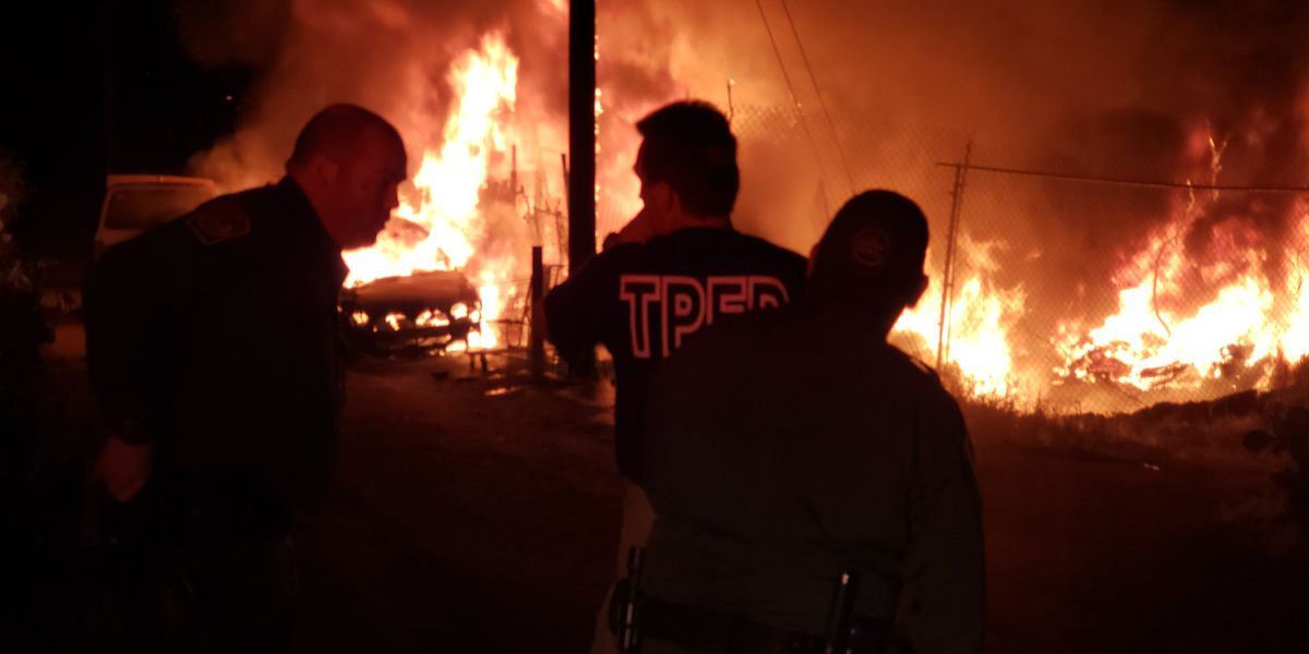 No injuries after neighborhood fire in Three Points